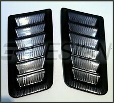 Focus RS MK2 Style Bonnet Vents Carbon Fibre Effect