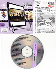 VCD VIDEO CD MICHAEL JACKSON BEYONCE DAVID GUETTA LILY ALLEN LADY GAGA GREEN DAY