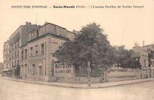 INSTITUTION POINTEAU - Saint-Mandé - l'ancien Pavillon de Nicolas Fouquet