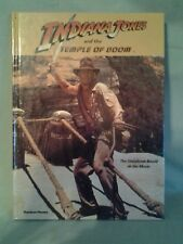 Indiana Jones and the Temple of Doom Storybook hardcover Vintage 1984☆
