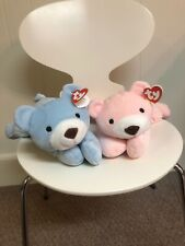 ty Beanie Babies Pillow Pals Huggy and Snuggy MINT CONDITION w/TAGS