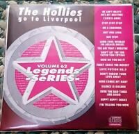 LEGENDS KARAOKE CDG THE HOLLIES GO TO LIVERPOOL #62 ROCK OLDIES 18 SONGS CD+G