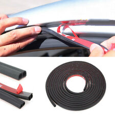 Universal 5M B Type Car Door Edge Trim Rubber Seal Strip Anti-dust Weatherstrip