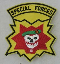 SPECIAL FORCES - Post VIETNAM WAR Made SKULL PATCH for VETERANS & COLLECTORS