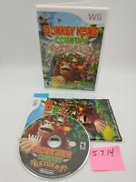 Donkey Kong Country Returns (Nintendo Wii) Complete w/ Manual, No Scratches
