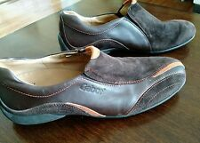 Gabor Comfort Easy Walking Soft & Smart Shoe Leather Brown Orange 7.5