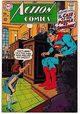 ACTION COMICS #359 (VF+) SUPERMAN! BATMAN Cameo! +SUPERGIRL Story! Neal Adams-c