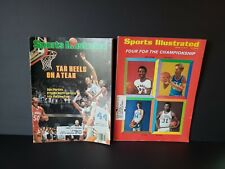 1970 & 1982 Sports Illustrated Four For The Championship & Tar Heels On A Tear