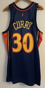 Stephen Curry Signed Warriors NBA Authentic Mitchell & Ness Auto Jersey FANATICS