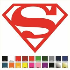 Superman - Supergirl Decal / Sticker - Choose Color & Size - Justice League