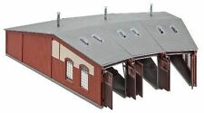 FALLER Modellbahn-Gebäude,-Tunnel & -Bücken der Spur H0 aus Kunststoff mit Lokschuppen