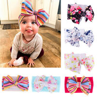 USA Kid Girls Baby Toddler Bow Headband Hair Band Accessories Headwear Head Wrap
