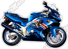 "Street Bike Extreme Sport Motorcycle Biker Car Bumper Vinyl Sticker Decal 5""X4"""