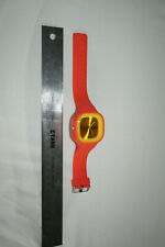 COOL BIG RUBBER WRIST WATCH S.S. COM