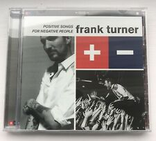 FRANK TURNER Positive Songs For Negative People CD **UNPLAYED**