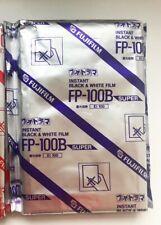 Fuji film FP-100B B&W Professional Instant Film - Rare stock!!!
