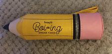 Benefit Boi-ing Erase Case Cosmetics Makeup Bag Large Pencil Fab Gift BN