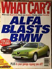 What Car Magazine - May 1996 - Alfa Coupé, Rover 400, Renault Megane
