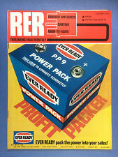 RER - RADIO ELECTRICAL RETAILING - Jan 1968 -TV AUDIO DOMESTIC APPLIANCES - RARE