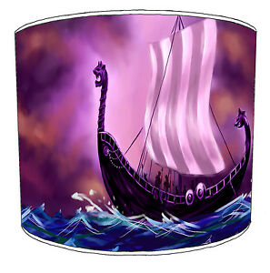 Old Norse Vikings Designs Lampshades Ideal To Match Vikings Wall Decals Stickers