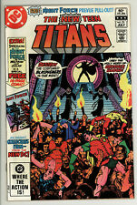 New Teen Titans 21 - 1st Brother Blood - High Grade 9.6 NM+