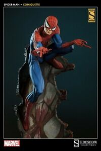 SIDESHOW COLLECTIBLES J Scott Campbell Spiderman Comiquette Exclusive NIB
