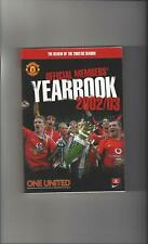 Manchester United Official Members Yearbook 2002/03