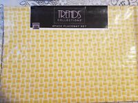 """Table place matsTrends Collections 13""""x19"""" 4Pack Placemat Set basket weave"""