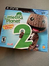 Little Big Planet 2 Collector's Edition - PS3 - Bookends & Sackboy Plush