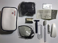 China Eastern Airlines Amenity Travel Toiletries Overnight Zippered Pouch Kit