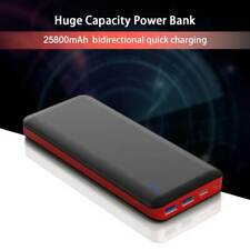 Power Bank 25800mAh Portable Charger 3A Quick Charge Type-C 2 USB Ports NEW