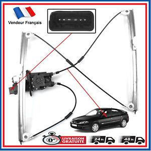 Mecanisme de Leve Vitre + Moteur Confort TEMIC Avant Gauche Chauffeur Laguna 2