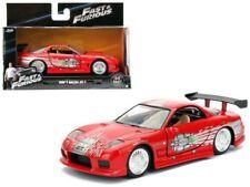FAST & FURIOUS DOM'S 1993 MAZDA RX-7 RED DIECAST MODEL CAR BY JADA 1:32 98377