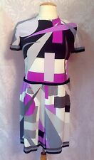 EMILIO PUCCI VINTAGE ICONIC SILK DRESS, SZ.36, S
