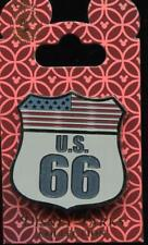 US Route 66 American Flag Sign Disney Pin