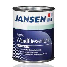 Jansen Wandfliesenlack weiß 2,5l - Fliesenfarbe Fliesenlack