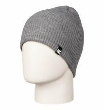 Dc Clap Beanie Heather Grey Hat Grey