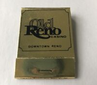 Old Reno Casino Unused Matchbook Collectible Travel Souvenir