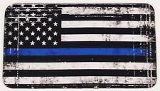 Yeti Tundra 65qt Cooler Pad Police Memorial Thin Blue Line Flag