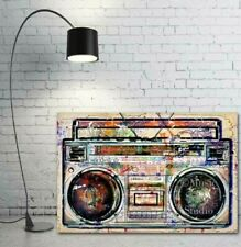 Boombox Art, Cool Prints, Ghetto Blaster Prints, Large Wall Art, Boombox Prints