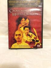 crouching tiger hidden dragon dvd - excellent condition a classic movie!