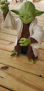 "Star Wars Legendary YODA Jedi Master Interactive Talking Figure 16"" Tall (A6)"
