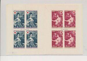 LO38055 France Nicolas Mignard art red cross good booklet MNH