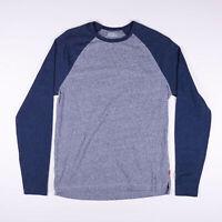 Vintage LEVI'S Grey Long Sleeve T-Shirt Size Womens Medium