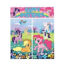 My Little Pony Party Scene Setter, over 6ft Tall, made up of five banners