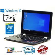 "Portátil Lenovo Yoga 300-11IBR 11,6"" Intel Celeron N3060 2GB 32GB+32GB SD Win 10"