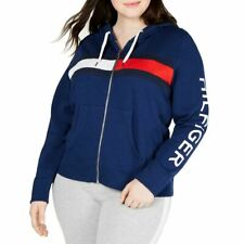 TOMMY HILFIGER SPORT NEW Womens Plus Hoodie French Terry...