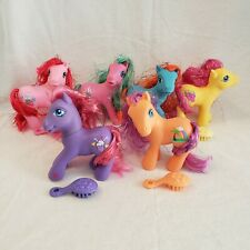 6 My Little Pony G3 2005 Shimmer Ponies Lot