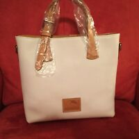 Dooney and Bourke NWT Emily Tote white Handbag Women's fashion accessory