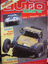 rare revue PORSCHE 911 PARIS DAKAR + TOYOTA FOUGEROUSSE / AUTO LOISIRS N° 57
